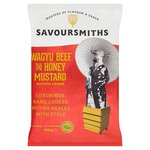 SAVOURSMITHS Wagyu Beef & Honey Mustard Luxury English Potato Crisps