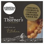 Jon Thorners Chicken, Chorizo & Cornish Orchards Cider Pie
