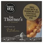 Jon Thorners BBQ Chicken & Barbers 1833 Vintage Cheddar Pie