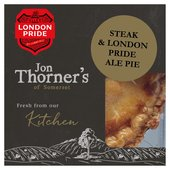Jon Thorners Steak & London Pride Ale Pie
