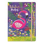 Rachel Ellen Designs Flamingo A5 Notebook