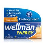 Vitabiotics Wellman Orange Energy Tablets
