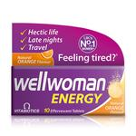Vitabiotics Wellwoman Orange Energy Tablets
