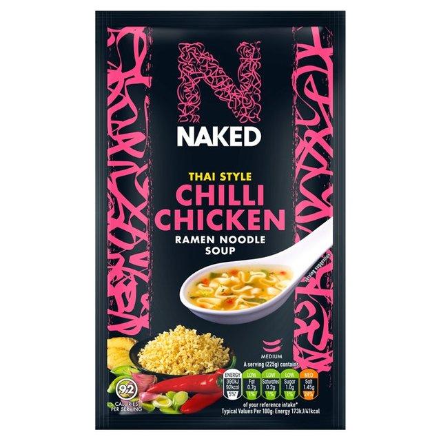 Naked Noodle Ramen Thai Chilli Chicken Soup   Ocado