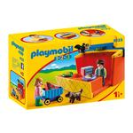 Playmobil 9123 1.2.3 Take Along Market Stall