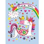 Rachel Ellen Designs Unicorn Thank You Cards
