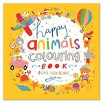 Rachel Ellen Designs Animals Colouring Book