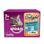 Whiskas 7+ Cat Pouches Casserole Fish Selection in Jelly