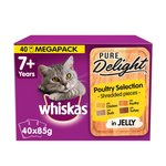 Whiskas 7+ Cat Pouches Casserole Poultry Selection in Jelly