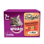 Whiskas 7+ Cat Pouches Casserole Meat Selection in Jelly