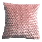 Gallery Direct Honeycomb Quilted Cushion Blush 45x45cm