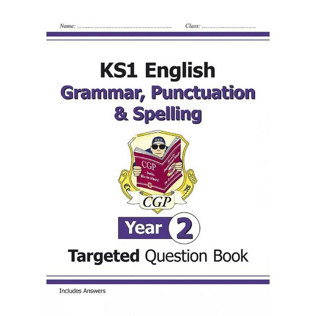 CGP KS1 English Targeted Question Book - Grammar, Punctuation & Spelling