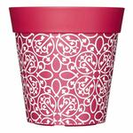 Hum Outdoor / Indoor Pot - Pink Lattice