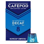 CafePod Decaf  Nespresso Compatible Coffee Capsules
