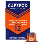CafePod Supercharger Nespresso Compatible Coffee Capsules