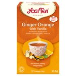 Yogi Tea Organic Ginger, Orange with Vanilla Tea Bags