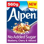 Alpen No Added Sugar Blueberry,Cherry & Almond
