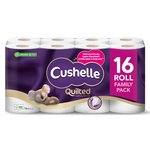 Cushelle Quilted Toilet Rolls White
