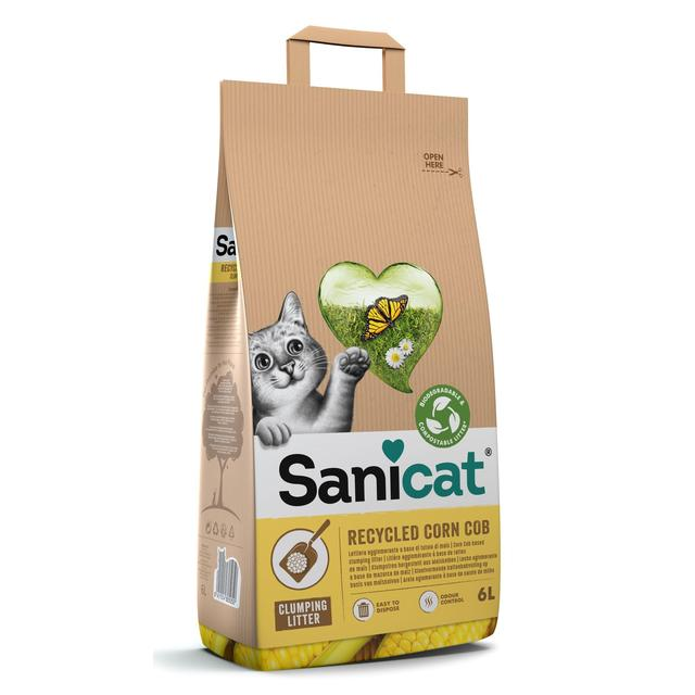 Sanicat Clumping Corn Cat Litter Ocado