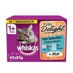 Whiskas 1+ Cat Pouches Casserole Fish Selection in Jelly