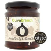 Olive Branch Sweet Olive, Fig & Almond Relish