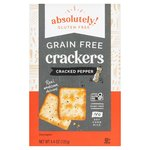 Absolutely Gluten Free Crackers Cracked Pepper