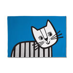 Jane Foster Kitten Cotton Tea Towel