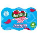 Hartley's No Added Sugar Raspberry Jelly Pot Multipack