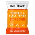 Planet Organic Turmeric & Black Pepper Popcorn