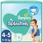 Pampers Splashers Size 4-5, 11 Swim Pants
