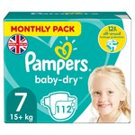Pampers Baby Dry Monthly Size 7