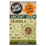 Planet Organic Ancient Grain Granola Three Seed