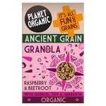 Planet Organic Ancient Grain Granola Raspberry Beetroot