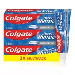 Colgate Deep Clean Whitening Toothpaste Triple Pack