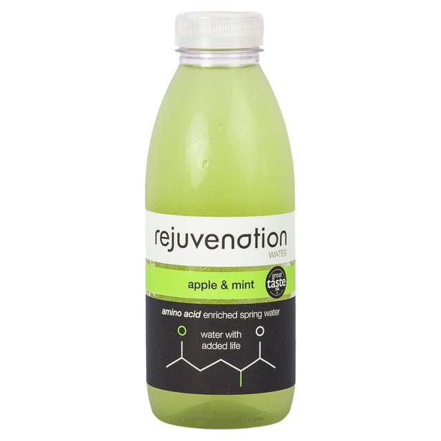 Rejuvenation Water Apple & Mint Amino Acid Enriched Spring Water