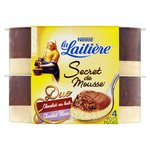 La Laitiere Secret De Mousse Duo