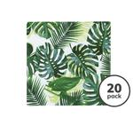 Talking Tables Tropical Fiesta Palm Print Cocktail Napkins