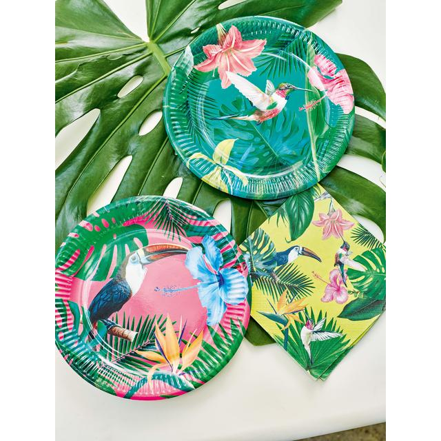 ... Talking Tables Tropical Fiesta Bright Round Paper Plates 9inch ...  sc 1 st  Ocado & Talking Tables Tropical Fiesta Bright Round Paper Plates 9inch 12 ...
