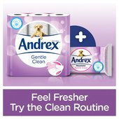 Andrex Gentle Clean Toilet Roll
