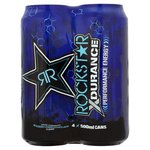 Rockstar Xdurance Blueberry, Pomegranate & Acai Energy Drink