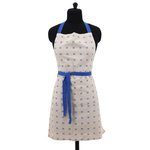 Raine & Humble Daisy Apron, Blue
