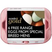 Ocado Gold Free Range Eggs from Special Breed Hens