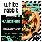 White Rabbit Pizza The Vegan Gardener Gluten Free Pizza
