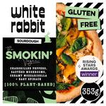 White Rabbit Pizza The Smokin' Vegan Gluten Free Pizza