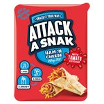 Attack A Snak Ham & Cheese Wrap