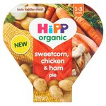 HiPP Organic Sweetcorn, chicken & ham pie