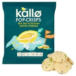 Kallo Sea Salt & Sicilian Lemon Vinegar Pop-Crisps