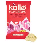 Kallo Himalayan Pink Salt & Black Pepper Pop-Crisps Sharing Bag