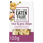 Off The Eaten Path Caramelised Onion & Vinegar Rice & Pea Chips