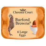 Clarence Court Burford Brown Large Free Range Eggs